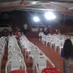 Logo tudo estava pronto para a grande festa espiritual