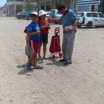 Evangelismo nas ruas de Lima