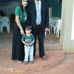 Pb. Luis Azevedo e família