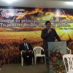 O Pr. Humberto Schimitt Vieira foi o preletor da Campanha de Milagres