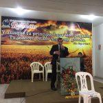 Pr. Ildo Manica deixou uma palavra de incentivo à igreja local