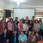 Participantes do retiro