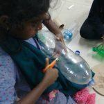 Atividades com material reciclável