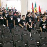Domingo à tarde - entrada da turma da Escola de Missões Extensiva