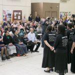 Domingo à tarde - turma da Escola de Missões Extensiva