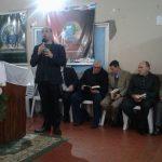 Irmão Danilo Bottini, de Porto Alegre/RS, louvando a Deus