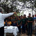 Muitos jovens estão sendo alcançados para Jesus em Tefé