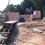 Deus também abriu as portas para a construção de uma abençoada casa de retiros