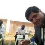 Almoço com os irmãos que participaram do seminário