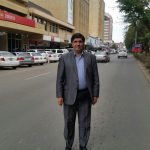 Avenida Cairo, principal de Lusaka, capital da Zâmbia