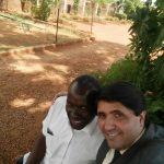 Junto com o Pr. Tutu