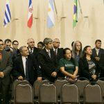 Missionários que já chegaram para a Conferência