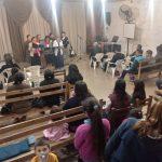 Um dos cultos realizados em Curuzu Cuatiá