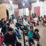 Público presente em um culto em Curuzu Cuatiá