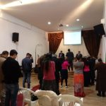 Momento de oração em Grândola