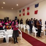 Parte do público presente no culto em Grândola, quando também se comemorou mais um aniversário do Ministério Restauração na cidade