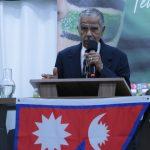 Pr. Guaraci Fernandes deixou uma palavra de meditação e orou com a igreja