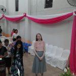 Cantora Helen Cristini também esteve presente no evento