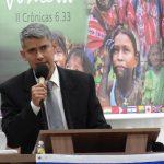 Missionário Leandro Damasceno ministrou a Palavra no sábado à tarde