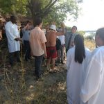 Pessoas não cristãs que estavam no local do batismo pediram oração