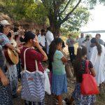 Ministração da Palavra antes do batismo em águas