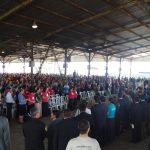 Milhares de pessoas participaram do evento