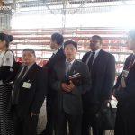 Missionários de diversos países estavam presentes