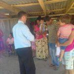 Pessoas aceitando a Jesus em Villa del Rosario