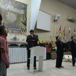 """Os participantes clamaram pelas """"chaves"""" dos Continentes durante as orações objetivas"""