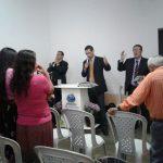 Visita do supervisor da região pr. João Carlos Jacob