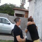 Miss. Ivone em visita aos lares