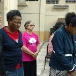 Irmãs da União Feminina também participaram da vigília