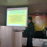 Ir. Luis Augusto Barth do Amarante apresentando o Desafio Jovem de Três Coroas