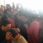 Os alunos da 39ª turma ministraram a bênção de Deus sobre os internos do Desafio Jovem