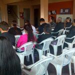 Culto na ala feminina - irª. Gislaine Pinto pregou a mensagem de Deus