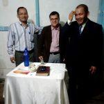 Missionário Nerísio com obreiros em Iquitos