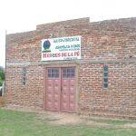 Igreja de Alvear ainda em construção