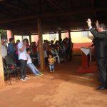 Público presente no culto de encerramento na Cong. Setor Dez