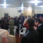 Público presente no culto de encerramento na Cong. Setor Pedra Lisa