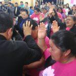 Oração final do culto na Cong. Setor Pedra Lisa