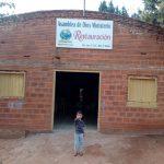 Fachada do templo de Curuguaty/Paraguay