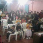 Culto em La Cruz/Argentina