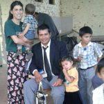 Miss. Andres e sua família