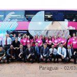 Excursão da igreja de Palhoça ao Paraguai