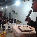 A Palavra de Deus foi ministrada com muita unção de Deus nos três dias da campanha que comemorou os 15 anos da igreja