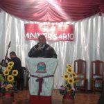 O Supervisor da Região, missionário Hugo Fleitas, também ministrou a Palavra de Deus