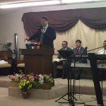Pr. James ministrando em Tifton