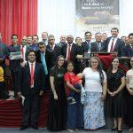 Promotores de missões de Gravataí e equipe da AME Heróis da Fé