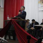 Pr. Sílvio Machado ministrou na consagração de Sábado
