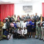 Promotores de missões de Gravataí junto com os irmãos haitianos